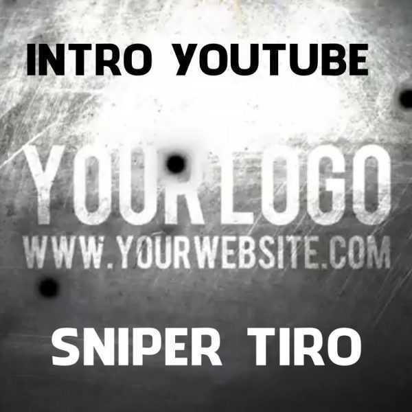 Intro Introdução Vinheta Youtube Canal E Vídeos Tiro