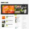 Criar Site Revista Notícias Português WordPress Responsivo 508