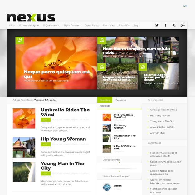 Criar Site Revista Notícias