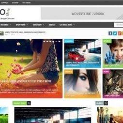 Template Blog Notícias Para Blogspot 569