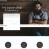 Template Barbearia WordPress Responsivo 662 S