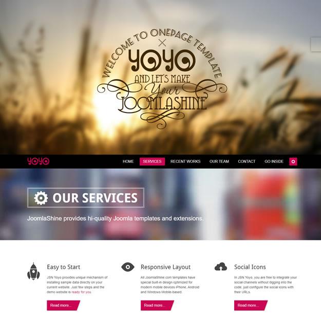 Site Agência Marketing Designers