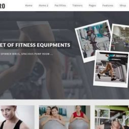 Template Academia Personal Pilates Wordpress Responsivo 738