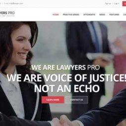 Template Advogado Advocacia Wordpress Responsivo 747 S