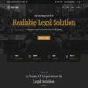 Criar Site Advogado Advocacia Joomla Responsivo 751 S