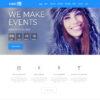 Criar Site Eventos Feiras WordPress Responsivo 755 S