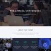Criar Site Eventos Feiras Conferência WordPress Responsivo 760