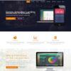 Criar Site Tecnologia Uma Página WordPress Responsivo 763 S