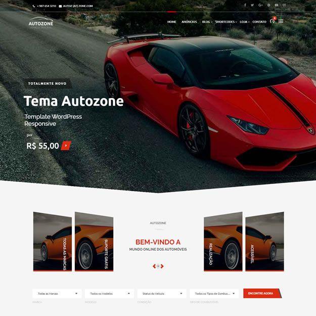 Criar Site Agência Carros