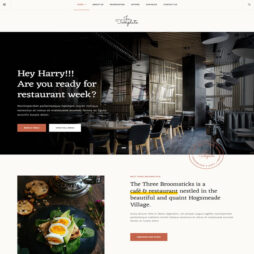 Criar Site Restaurante Cafeteria