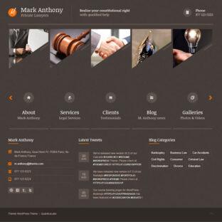 Criar Site Advogado Advocacia Wordpress Responsivo 748