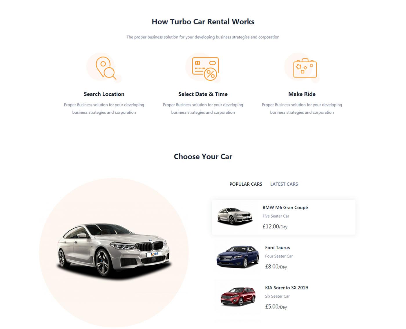 Criar Site Aluguel De Carros Tema WordPress 769 002
