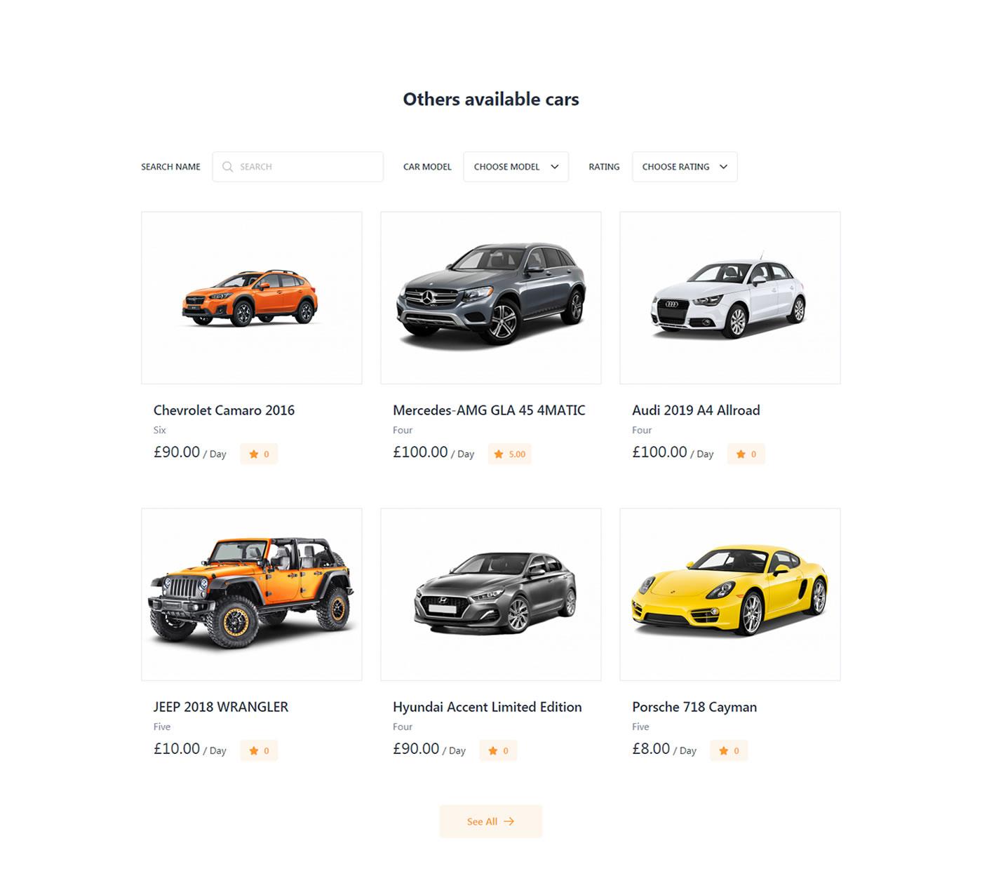 Criar Site Aluguel De Carros Tema WordPress 769 003