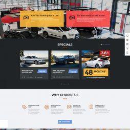 Criar Site Classificados Carros Tema Wordpress Responsivo 799