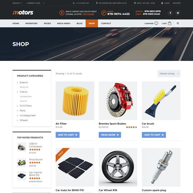 Criar Site Classificados Carros Wordpress Responsivo 799 S
