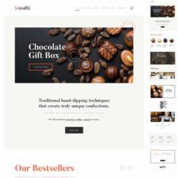 Criar Site Doceria Confeitaria Cafeteria Tema Wordpress Responsivo 575 S