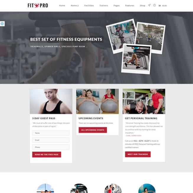 Criar Site Personal Pilates Wordpress Responsivo 738