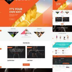 Criar Site Academia