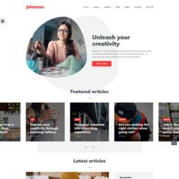 Template Blog WordPress
