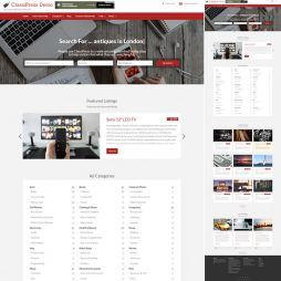 Template Classificados WordPress Responsivo 796 v1