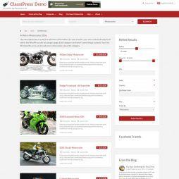 Template Classificados Wordpress Responsivo 796
