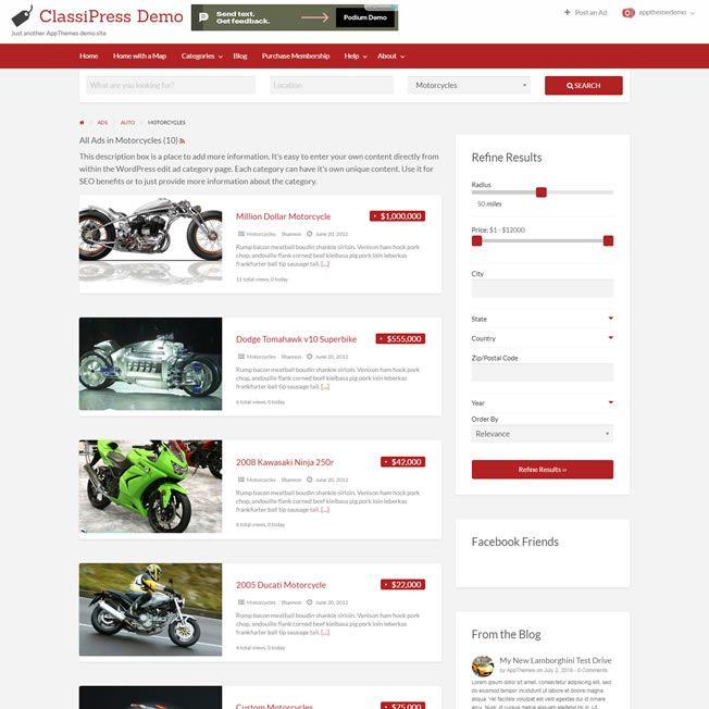 Criar Site Classificados Wordpress Responsivo 796