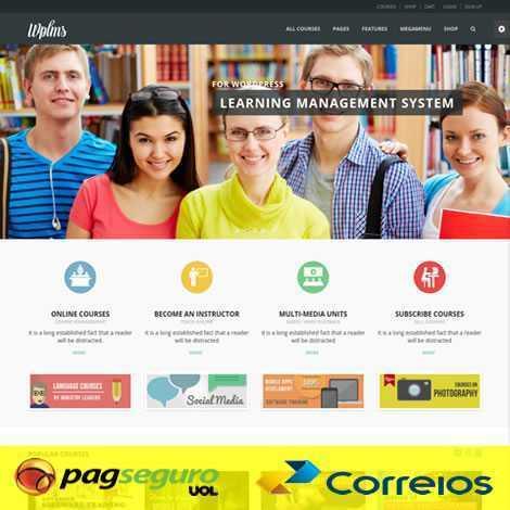 Criar Site Cursos Online