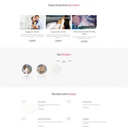 Template Namoro Relacionamento Wordpress Responsivo 554