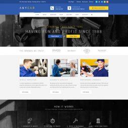 Template Oficina Carros WordPress 775 S