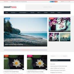 Template Portal de Notícias Wordpress
