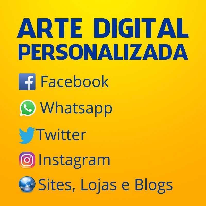 Arte Digital Personalizada Facebook Redes Sociais