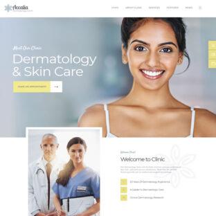 Criar Site Dermatologista Estética