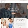 Criar Site Clinica Idosos WordPress Responsivo 806