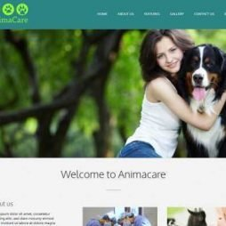 Template Clinica Veterinária Wordpress Responsivo 807