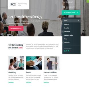 Criar Site Consultoria Finanças