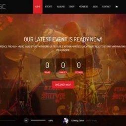 Site Música Banda Artista