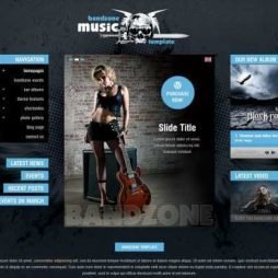 Criar Site Bandas Músicos