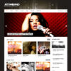 Criar Site Bandas Músicos Djs WordPress Responsivo 858