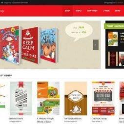 Template Loja Virtual Livros e Ebooks Joomla Virtuemart Responsivo 874 S