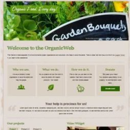 Template Ecologia e Natureza WordPress Responsivo 878
