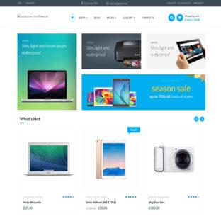 Loja Virtual Eletrônicos Wordpress