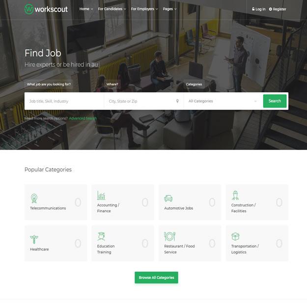 Criar Site Vagas Emprego