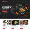 Criar Site Bar Restaurante WordPress Responsivo 890