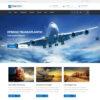 Criar Site Transportadora Logística WordPress Responsivo 892