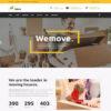 Criar Site Logística Mudança WordPress Responsivo 906 S