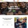 Criar Site Camping Acampamento WordPress Responsivo 908