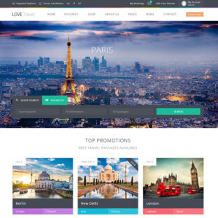 Criar Site Turismo WordPress