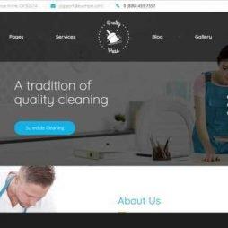 Criar Site Limpeza Serviços