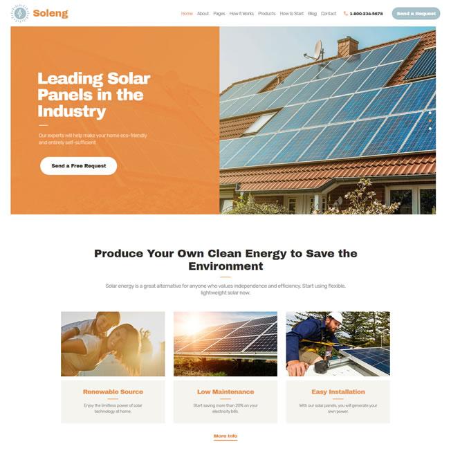 Template Energia Solar