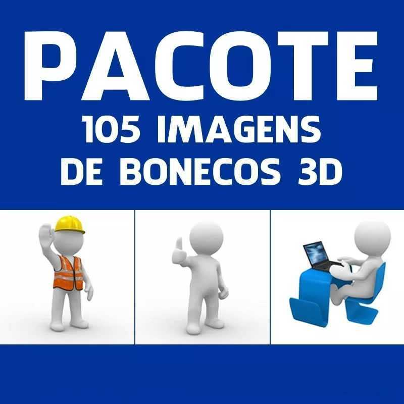 Banco De Imagens Boneco 3d 105 Fotos